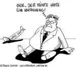 Karikatur, Cartoon: Absturz der SPD bei der Bundestagswahl 2009, © Roger Schmidt