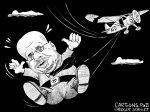 Karikatur, Cartoon: AfD wirft Andreas Kalbitz raus © Roger Schmidt