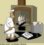 Karikatur, Cartoon: Ausbildung und Beruf, © Roger Schmidt