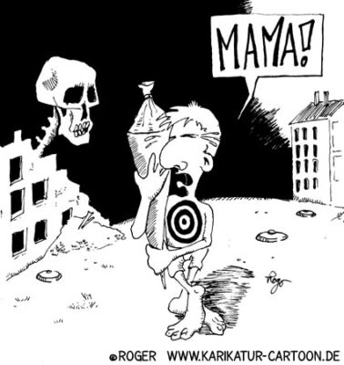 Karikatur, Cartoon: Geiseldrama Beslan, © Roger Schmidt
