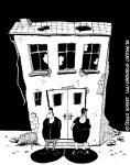 Karikatur, Cartoon: Beziehung und Partnerschaft, © Roger Schmidt