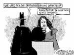 Karikatur, Cartoon: Blackout der Energieversorgung © Roger Schmidt
