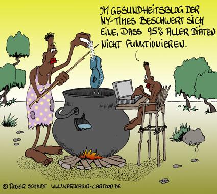 Karikatur, Cartoon: Blogger, © Roger Schmidt