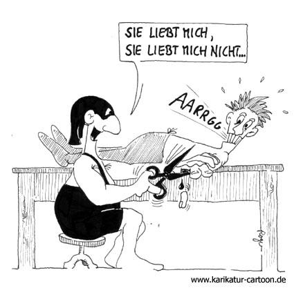 Karikatur, Cartoon: Schere, © Roger Schmidt