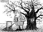 Karikatur, Cartoon: Briten geben sich den Brexit © Roger Schmidt