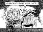 Karikatur, Cartoon: Corona breitet sich im Iran aus © Roger Schmidt