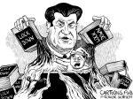 Karikatur, Cartoon: Der kernige Söder © Roger Schmidt