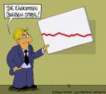 Karikatur, Cartoon: Das Einkommen wächst mit dem Gehalt, © Roger Schmidt