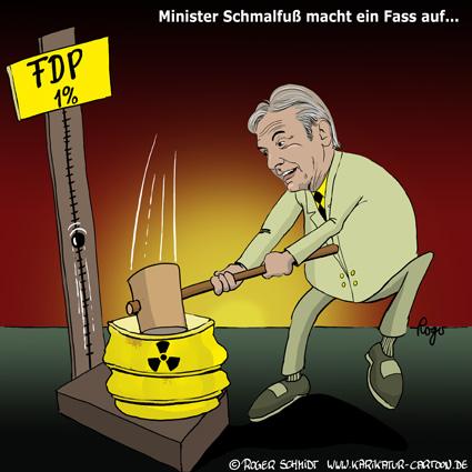 Karikatur, Cartoon: Emil-Schmalfuß, © Roger Schmidt
