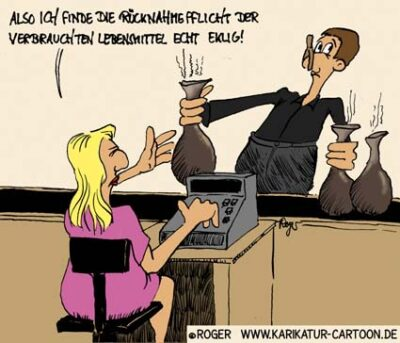 Karikatur, Cartoon: Erneuerbare Energiequellen, © Roger Schmidt