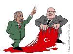 Karikatur, Cartoon: Altmeier biedert sich Erdogan an, © Roger Schmidt
