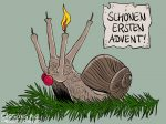 Karikatur, Cartoon: Erster Advent 2020 © Roger Schmidt