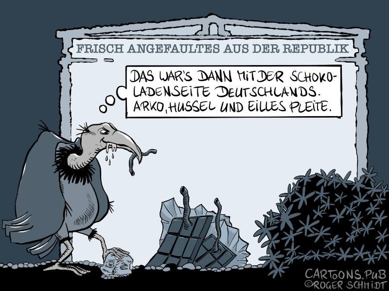 Frisch Angefaultes: Die Schokoladenseite Deutschlands © Roger Schmidt