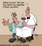Karikatur, Cartoon: Gammelfleisch, © Roger Schmidt