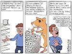 Karikatur, Cartoon: Hamsterkäufe von Toilettenpapier © Roger Schmidt