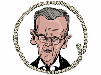 Karikatur, Cartoon: Heiko Maas © Roger Schmidt