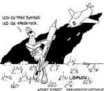Karikatur, Cartoon: Hisbollah, © Roger Schmidt