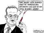 Karikatur, Cartoon: Europäische Impfstoffkrise gelöst © Roger Schmidt