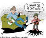 Karikatur, Cartoon: Je suis Charlie, © Roger Schmidt
