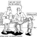 Karikatur, Cartoon: Jobs für Frührentner, © Roger Schmidt