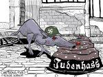Karikatur, Cartoon: Judenhass und Antisemitismus © Roger Schmidt