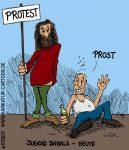 Karikatur, Cartoon: Jugend, © Roger Schmidt