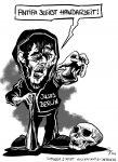 Karikatur, Cartoon: Berliner Jusos wollen mehr Handarbeit, © Roger Schmidt