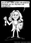 Karikatur, Cartoon: Justizministerin Katarina Barley wechselt zum EU-Parlament, © Roger Schmidt