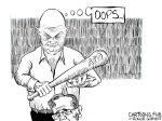 Karikatur, Cartoon: Kemmerich mit AfD-Stimmen gewählt © Roger Schmidt