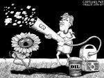 Karikatur, Cartoon: CO2 als Rohstoff © Roger Schmidt