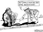 Karikatur, Cartoon: Kohleausstieg 2038 © Roger Schmidt