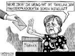 Karikatur, Cartoon: Geheime Wahlen Landtag Thüringen © Roger Schmidt