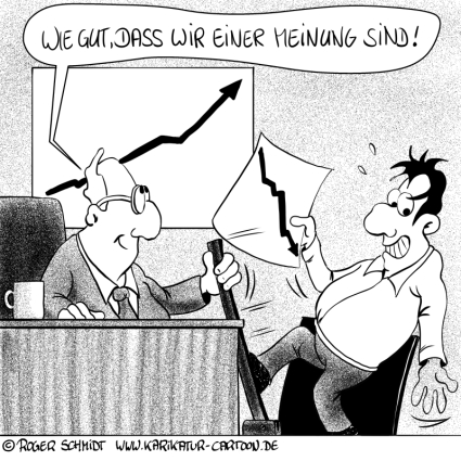 Karikatur, Cartoon: Meinungsfreiheit, © Roger Schmidt