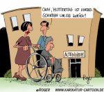 Karikatur, Cartoon: Muttertag, © Roger Schmidt