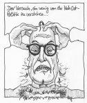 Karikatur, Cartoon: Der Versuch, die NahOst-Politik zu verstehen © Roger Schmidt