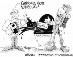 Karikatur, Cartoon: Newsweek Koran, © Roger Schmidt