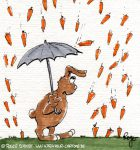 Karikatur, Cartoon: Osterhasen, © Roger Schmidt