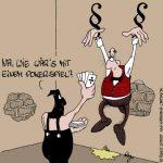 Karikatur, Cartoon: Pokerspiel, © Roger Schmidt