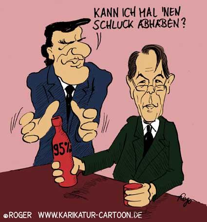 Karikatur, Cartoon: SPD Parteitag, © Roger Schmidt