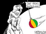 Karikatur, Cartoon: Quo vadis, Deutschland? © Roger Schmidt
