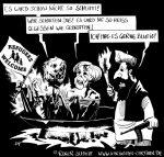 Karikatur, Cartoon: Refugees Welcome, © Roger Schmidt