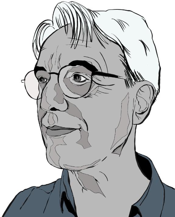 Karikaturist Roger Schmidt