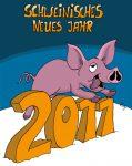 Karikatur, Cartoon: Schweinisches Neues Jahr, © Roger Schmidt