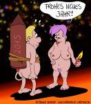 Karikatur, Cartoon: Silvester 2014/2015, © Roger Schmidt