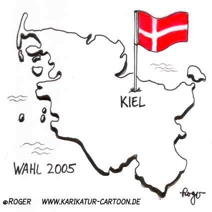 Karikatur, Cartoon: SSW, © Roger Schmidt