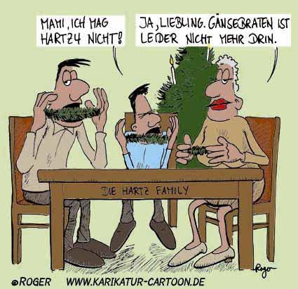 Karikatur, Cartoon: Tannenbaum, © Roger Schmidt