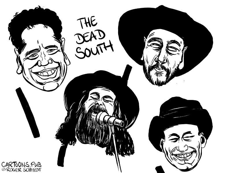 Karikatur, Cartoon: The South Death © Roger Schmidt