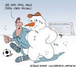 Karikatur, Cartoon: Trainer, © Roger Schmidt