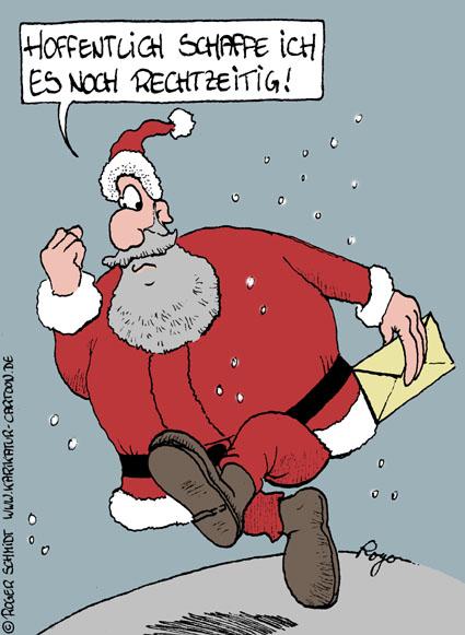 Karikatur, Cartoon: Versand, © Roger Schmidt