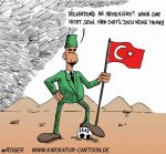 Karikatur, Cartoon: Völkermord an Armeniern, © Roger Schmidt